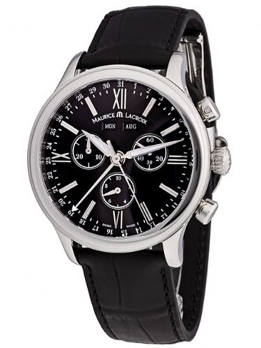 MAURICE LACROIX Les Classiques Day/Date/Month Chronograph Gents Watch LC1098-SS001-31E